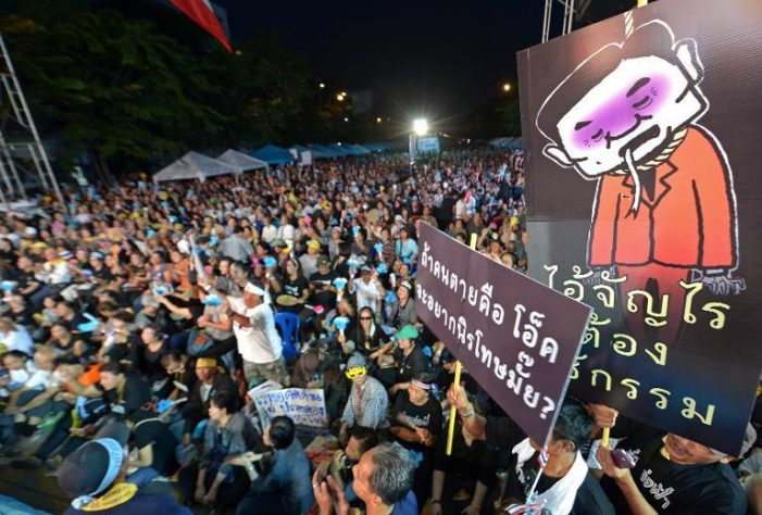 Thailand's House Of Representatives Pass Controversial Amnesty Bill