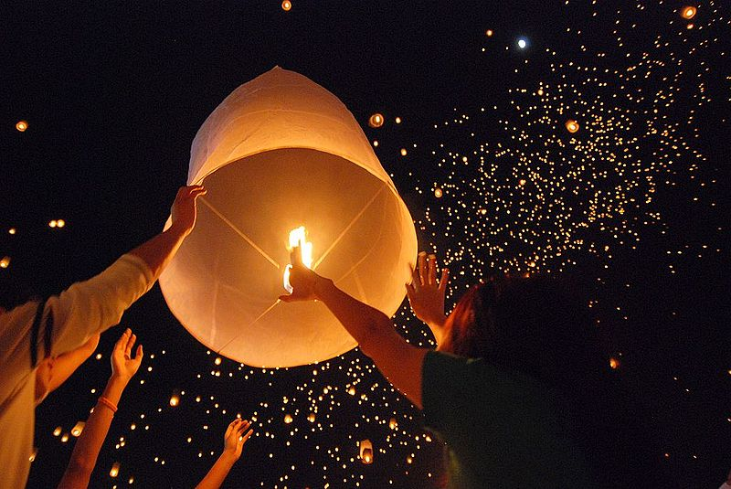 "Chiang Rai  ""Lanna Lantern--commonly known as ""Yi Peng-- festival,"""