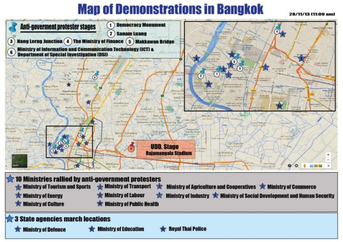 Situation Update: Thailand Political Developments