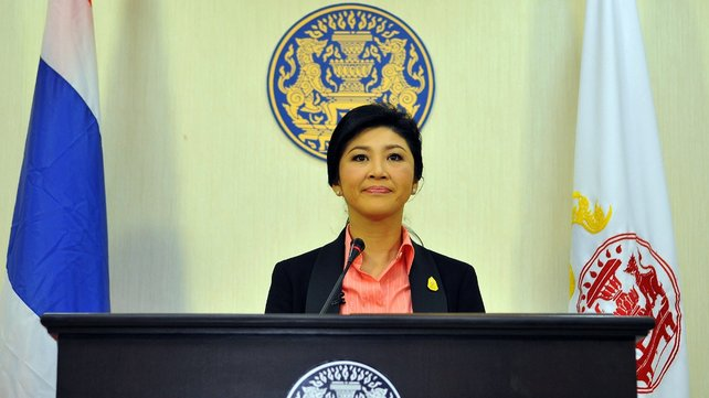 Prime Minister Yingluck Shinawatra Dissolves Parliament and Calls Election