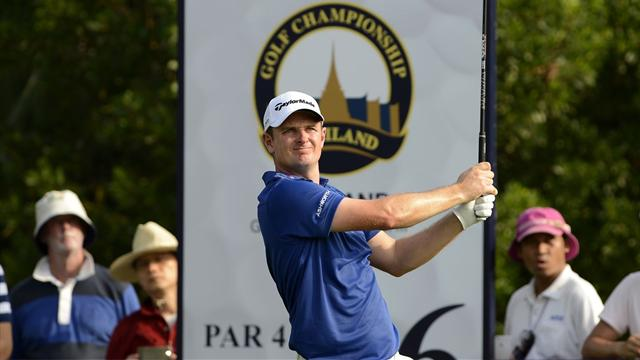 Rose shares lead with ace man Garcia in Thailand