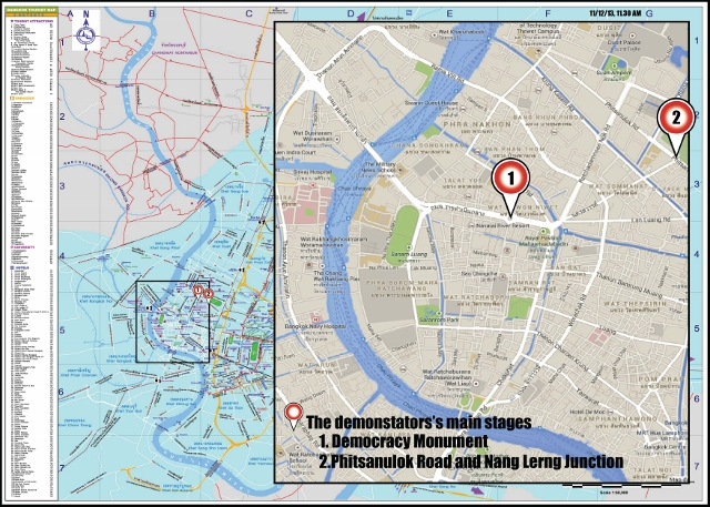 Tourism Authority of Thailand Protest Update for Tourists in Bangkok