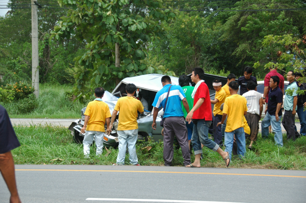 3 Dead, 3 Injured in Car Crash on Mai Sai – Chiang Rai Highway