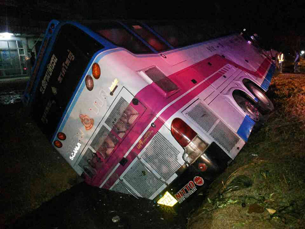 Bus Accident Injures 24 People, Holiday Road Death Toll Hits 86