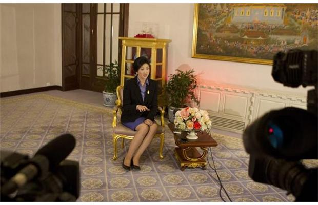 Prime Minister Yingluck Shinawatra Sees No Quick End to Political Impasse
