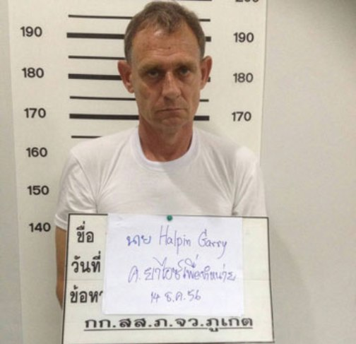 Phuket Tourist Police Volunteer Garry Halpin Charge with Selling Drugs