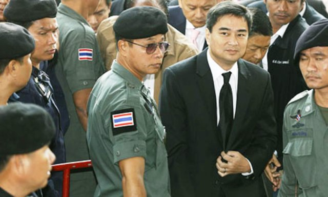 Thailand's Former Prime Minister Abhisit Vejjajiva Formally Charged with Murder