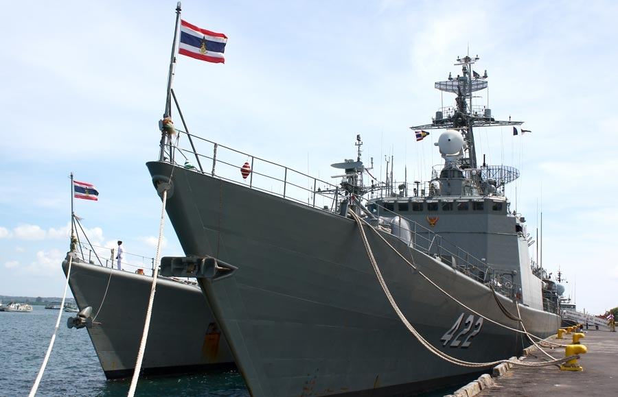 A captain acting on behalf of the RTN has accused two Phuketwan journalists of damaging the reputation of the service and of breaching the Computer Crimes Act.