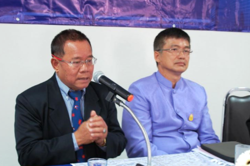 Chairman of the Chiang Rai Chamber of Commerce Boontham Thipprasong