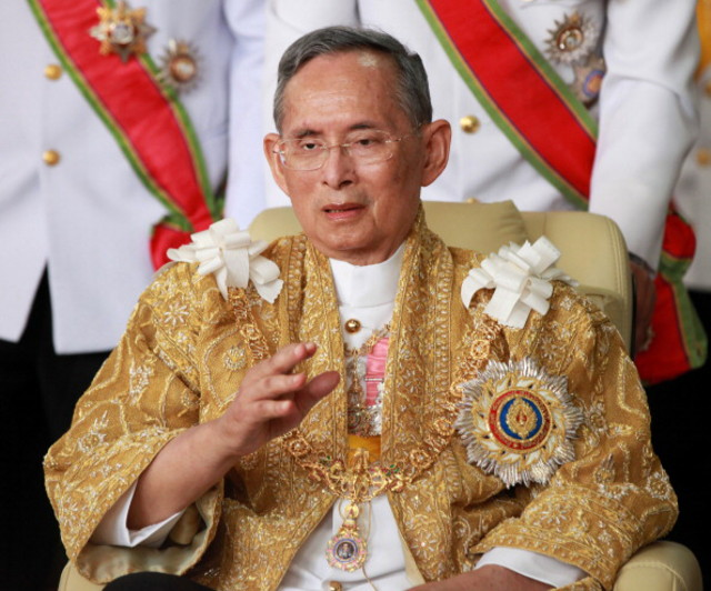 "Thailand's revered King Bhumibol Adulyadej urged the nation to work together for ""stability"" in a speech on Thursday on his 86th birthday"