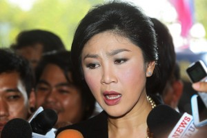 Thai Prime Minister Yingluck Shinawatra said on Monday that she was ready to resign to bring peace to the country.