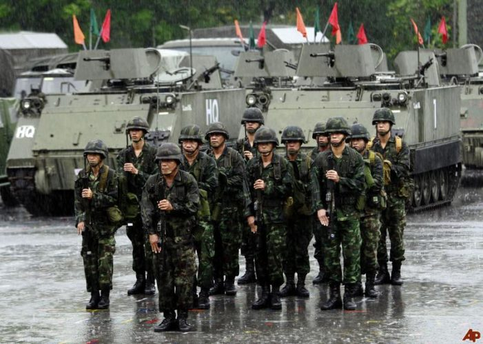 Thailand's Army Moves to Allay Coup Fears