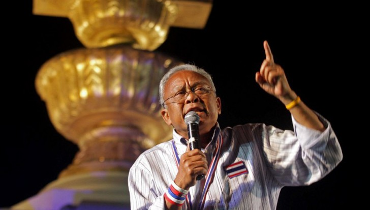 it was alleged that the Pheu Thai party had set a 50-million baht bounty for the death of Suthep