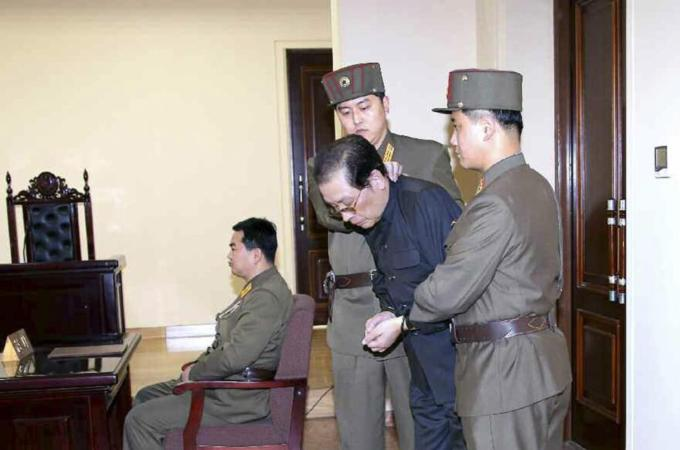 Kim Jong has 'executed or banished more than 100 members of his uncle's family since Christmas to rid all trace of him' Read more: http://www.dailymail.co.uk/news/article-2547293/Kim-Jong-executed-banished-100-members-uncles-family-Christmas-rid-trace-him.html#ixzz2rkPG1kM7 Follow us: @MailOnline on Twitter | DailyMail on Facebook
