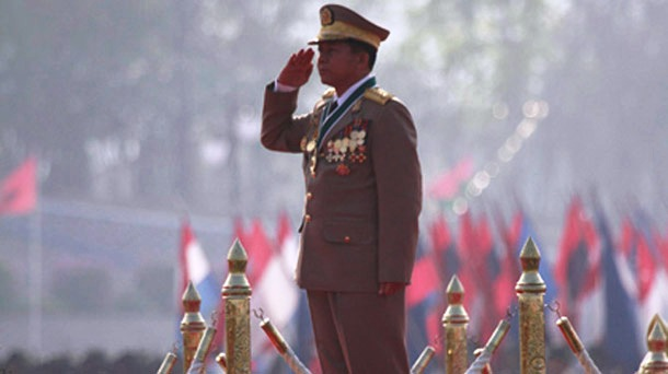 Myanmar Military Chief Blames Ethnic Groups for Conflict, Says Army 'Afraid of No One'