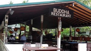 THe Buddha Bar Restaurant at the Padangbai Beach Resort is believed to be the venue where Noelene and Yvana Bischoff ate their last meal. Picture: News Limited