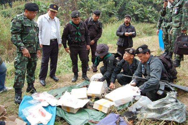 Chiang Rai Army Rangers Kill 4 Drug Couriers in Mae Chan District