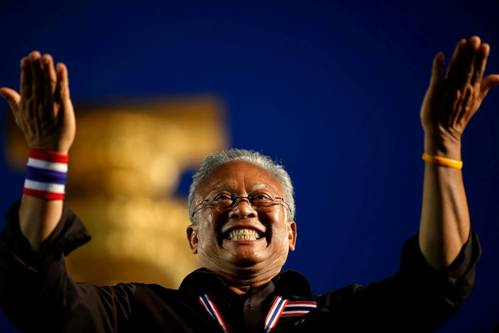 Suthep's links with the Thai elite go back decades, from when he was growing up in a wealthy land-owning family in Surat Thani province
