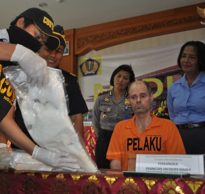 Frenchman Allegedly Caught With 3 Kilos of Meth Faces Death in Bali