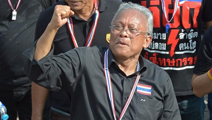 """Suthep Shrugs off Concerns about """"People's Coup"""""""