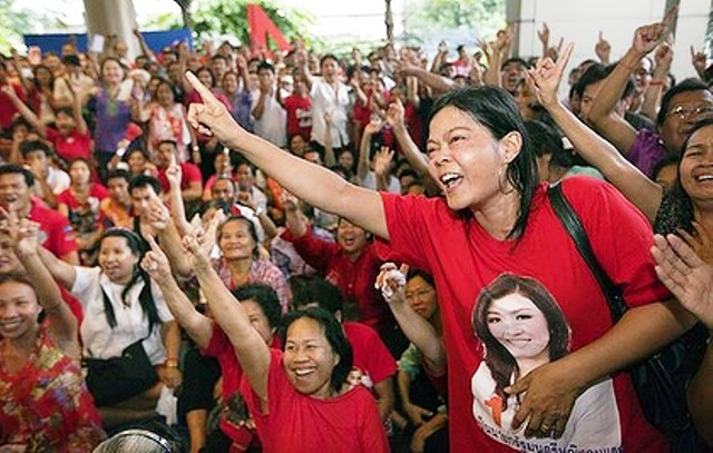 "Thailand's Northern Red Shirts ""Ready to Resist"" Army Coup"