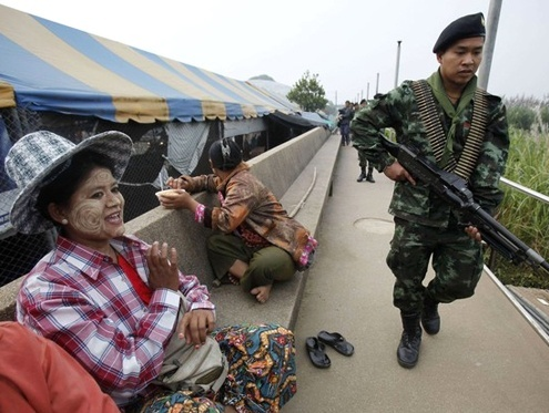 Thailand's Narcotics Control Board Closely Monitors Border Checkpoints