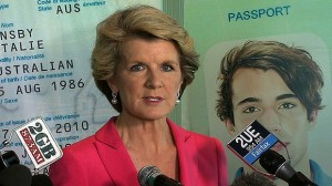 Foreign Affairs Minister Julie Bishop signalled a ''user-pays'' approach to consular assistance after 11,927 Australians sought help in the last financial year. Read more: http://www.smh.com.au/federal-politics/political-news/julie-bishop-wants-aussies-in-trouble-overseas-to-pay-for-governments-help-20140104-30arv.html#ixzz2pRMjBH5T