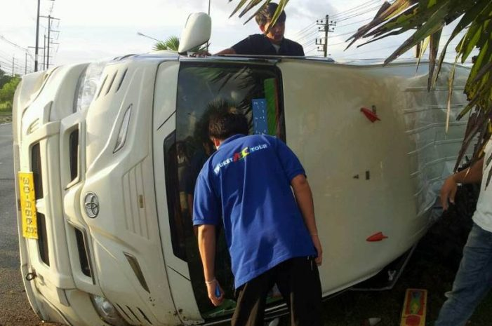 Eight Israelis Injured in Accident on the Island of Koh Phangan