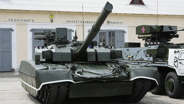 Oplot main battle tank of the Ukrainian Armed Forces