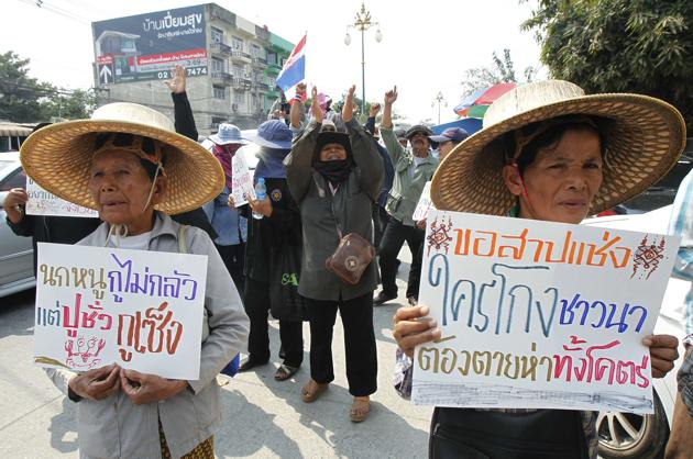 Once Again Thai Farmers Suffer from Political Divide in Bangkok