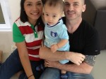 Steve Williams, from Coventry, who moved to Thailand and started his own volunteering and touring business, Bamboo Project,with his wife Lerdtida and their two-year-old son Tyler