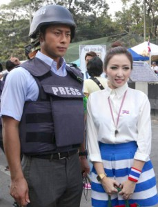 'Handsome' Japanese reporter steals thunder from Thailand's elections, anti-government rallies
