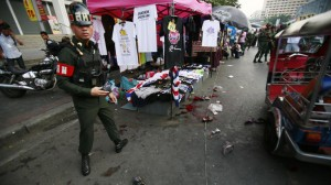 Thai media reported that as many as three people were killed and several others are in critical condition, but National Security Council chief Lt. Gen. Paradorn Pattanathuabutr so far confirmed one fatality — an 8-year-old girl.
