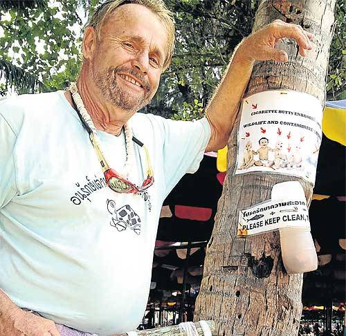 Bangkok Post's Recognizes Good Samaritan US Expat Gerry Rasmus