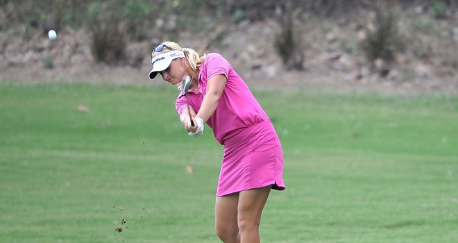Anna Nordqvist fired a 5-under 67 on Saturday to stretch her lead up to four strokes at the Honda LPGA Thailand