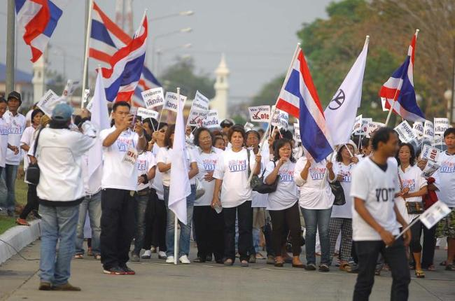 Thais Nationwide Voice Support for General Election