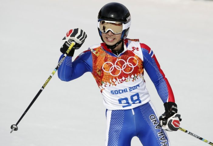 Thailand's Kanes Sucharitakul Finishes 65th in Sochi Winter Olympic's Giant Slalom