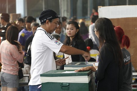 Voting ended at 3 p.m. (0800 GMT), but no results will be announced on Sunday