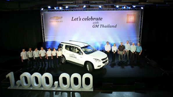 Thailand GM Plant in Rayong Reaches Production Milestone, 1 Million Vehicles