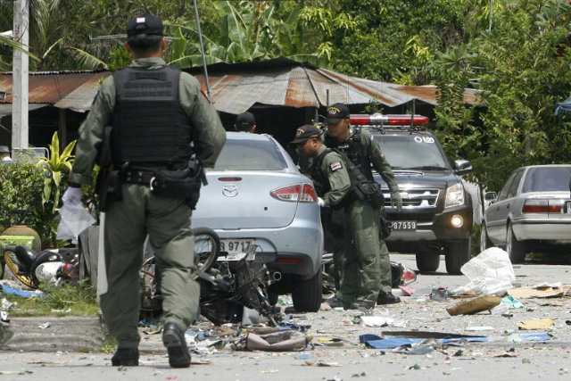 Policeman's Wife Shot Dead and Set on Fire in Pattani Province