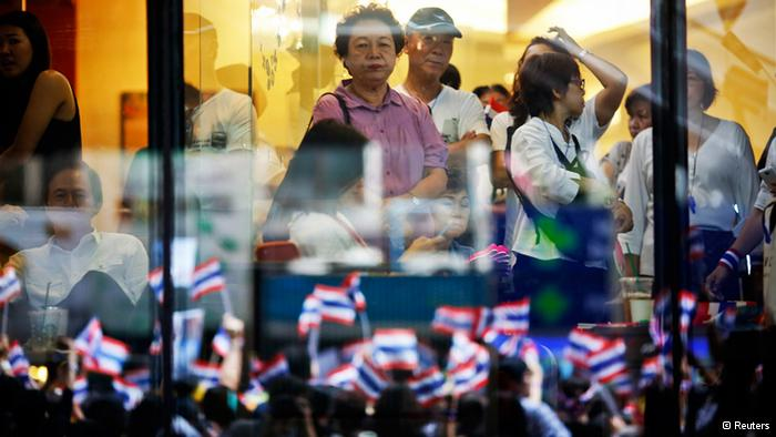 Thai gross domestic product could shrink by 2 per cent this year if a government is not in place by the second half.
