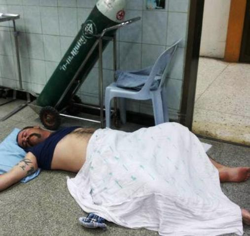 Christopher Lazarus Boubis, 39, later regained consciousness in the emergency ward at the hospital, but immediately went on a rampage through the facility. - See more at: http://www.phuketgazette.net/phuket-news/Drunk-Aussie-tourist-marks-rough-landing-Phuket/27994#ad-image-1