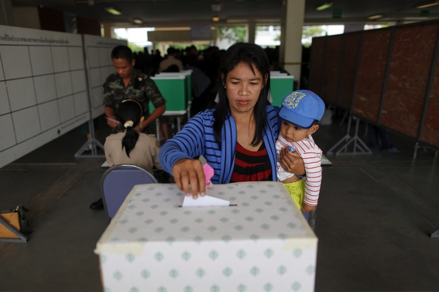 Senate Election Atmosphere in Chiang Rai is Bustling