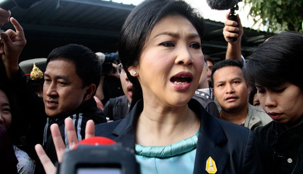 Yingluck has been charged in connection with a rice subsidy scheme, and could face an impeachment vote in the upper house of parliament within weeks.