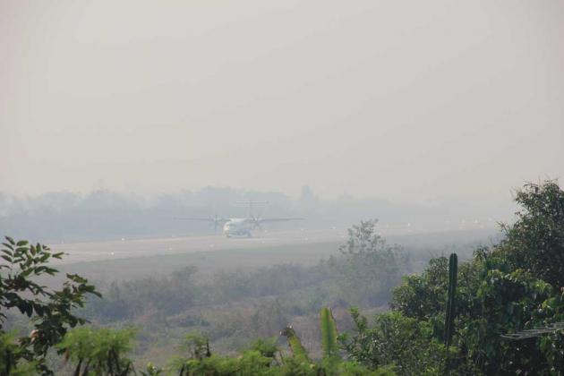 Haze in North Worsens, as Flights Cancelled Due to Poor Visibility