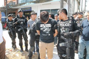 On Tuesday night, Yi and Kritsana returned to Ranong to take the drugs to the company's office for repackaging