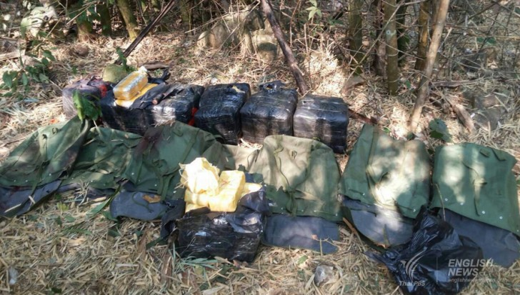 Clash with suspected drug smugglers in Chiang Rai's Mae Sai district that left six suspects dead.