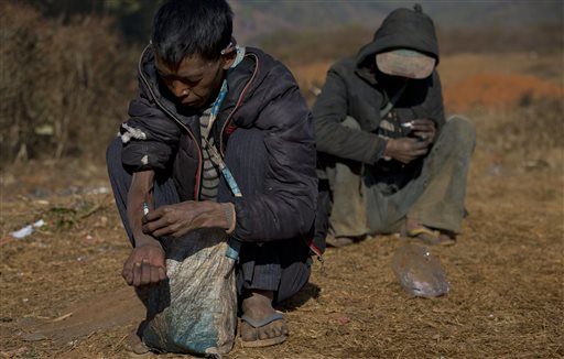 Opium Fight Failing in Myanmar's Shan State