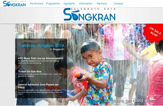 """Tourism Authority of Thailand Looks to Sue The Singapore's """"Celebrate Songkran 2014"""" Event"""