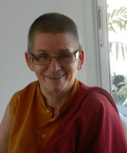 Ani Konchog Lhamo, a Buddhist nun in the Tibetan tradition